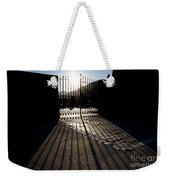 Gate In Backlight Weekender Tote Bag