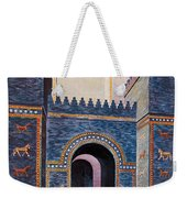 Gate Of Ishtar, Babylonia Weekender Tote Bag by Photo Researchers