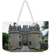 Gate To Chateau De La Bretesche Weekender Tote Bag