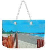 Gate To Paradise Weekender Tote Bag