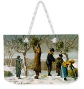 Gathering Mistletoe Weekender Tote Bag