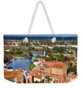 Gdansk Cityscape Weekender Tote Bag