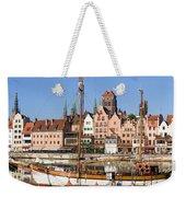 Gdansk In Poland Weekender Tote Bag