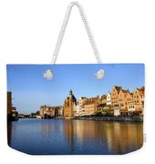 Gdansk Old Town And Motlawa River Weekender Tote Bag