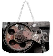 Gear Wheel Weekender Tote Bag