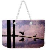 Geese At Dawn Weekender Tote Bag