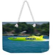 Geico Offshore Racer Weekender Tote Bag