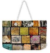 Gemstones And More Collage Weekender Tote Bag