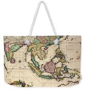 General Map Extending From India And Ceylon To Northwestern Australia By Way Of Southern Japan Weekender Tote Bag