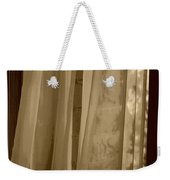 Gentle Breeze In Sepia Weekender Tote Bag