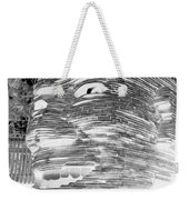 Gentle Giant In Negative Black And White Weekender Tote Bag