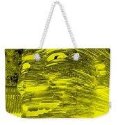 Gentle Giant In Negative Colors Weekender Tote Bag