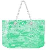 Gentle Giant In Negative Green Weekender Tote Bag