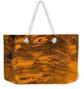 Gentle Giant In Negative Orange Weekender Tote Bag