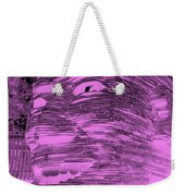 Gentle Giant In Negative Pink Weekender Tote Bag