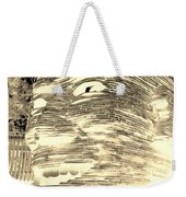 Gentle Giant In Negative Sepia Weekender Tote Bag