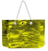 Gentle Giant In Negative Stop Light Colors Weekender Tote Bag