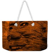 Gentle Giant In Orange Weekender Tote Bag