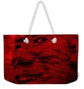 Gentle Giant In Red Weekender Tote Bag