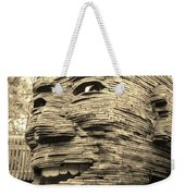 Gentle Giant In Sepia Weekender Tote Bag