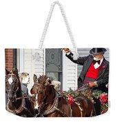 Gentleman Driver Weekender Tote Bag
