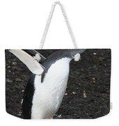 Gentoo Penguin With Something To Say Weekender Tote Bag
