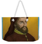 Geoffrey Chaucer, Father Of English Weekender Tote Bag