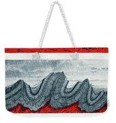 Geologic Crumpling Weekender Tote Bag