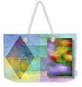 Geometric Blur Weekender Tote Bag