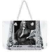 George Frideric Handel, German Baroque Weekender Tote Bag
