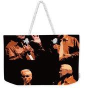 George Jones Concert Collage Weekender Tote Bag