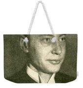 George Richards Minot, American Medical Weekender Tote Bag by Science Source