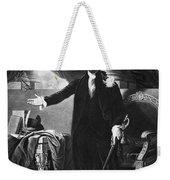 George Washington, 1st American Weekender Tote Bag by Omikron