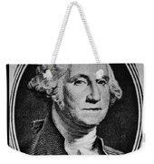 George Washington In White Weekender Tote Bag