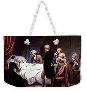 George Washington On His Death Bed Weekender Tote Bag