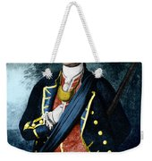 George Washington, Virginia Colonel Weekender Tote Bag by Photo Researchers, Inc.