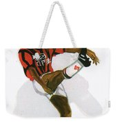 George Weah In Action Weekender Tote Bag
