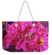 Geranium Pop Weekender Tote Bag