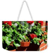Geraniums In Germany Weekender Tote Bag by Carol Groenen