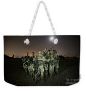 German Army Crew Poses Weekender Tote Bag