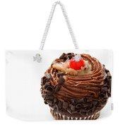 German Chocolate Cupcake 1 Weekender Tote Bag