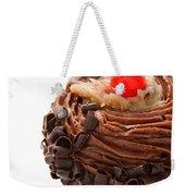 German Chocolate Cupcake 4 Weekender Tote Bag