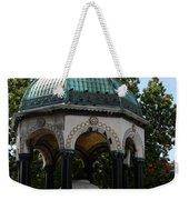 German Fountain - Istanbul Weekender Tote Bag