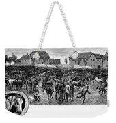 German Market, C1890 Weekender Tote Bag