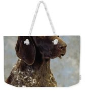 German Pointer Portrait Of A Dog Weekender Tote Bag