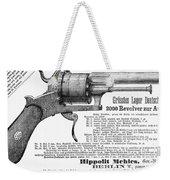 German Revolver, 1880 Weekender Tote Bag