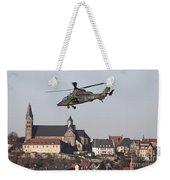 German Tiger Eurocopter Flying Weekender Tote Bag