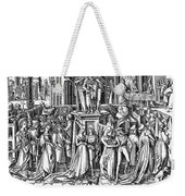 Germany: Medieval Ball Weekender Tote Bag by Granger