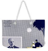 Get Out And Get Under The Moon Weekender Tote Bag by Mel Thompson