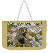 Get Well Card - Bumblebee Weekender Tote Bag